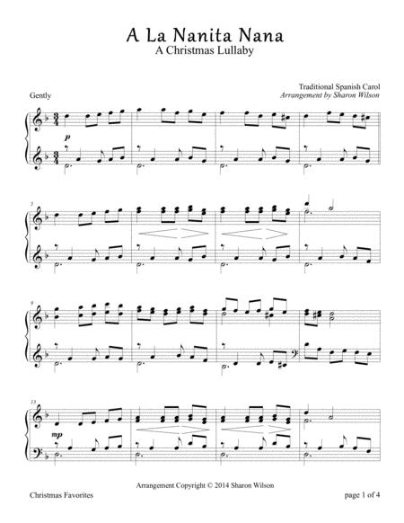 A La Nanita Nana (Piano Solo)