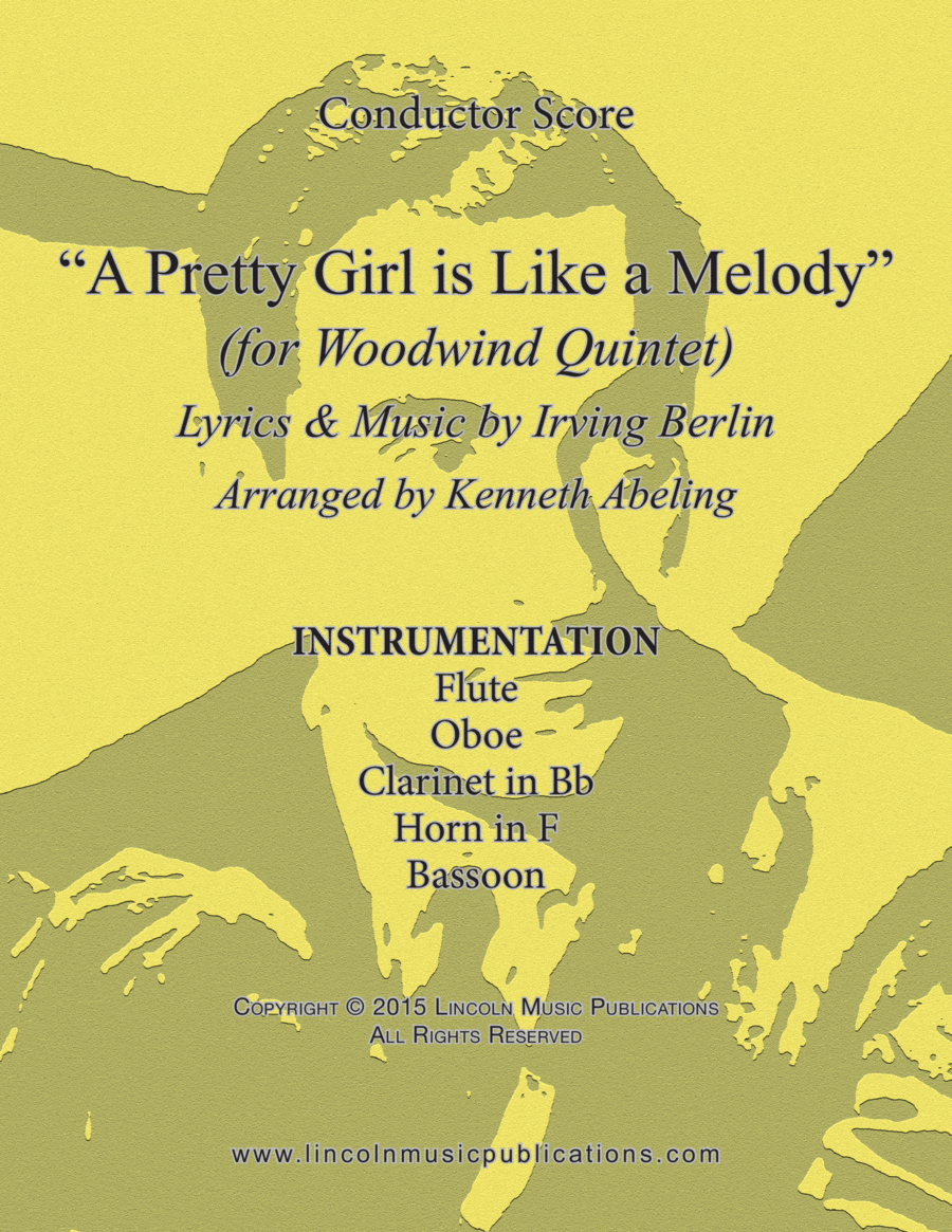 Jazz – A Pretty Girl is Like a Melody (for Woodwind Quintet)