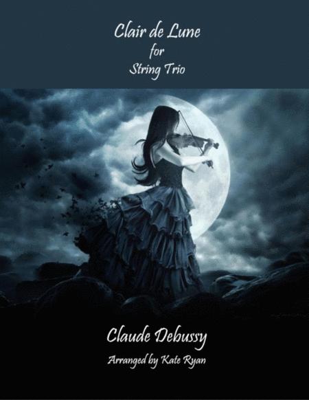 Clair de Lune (String Trio)