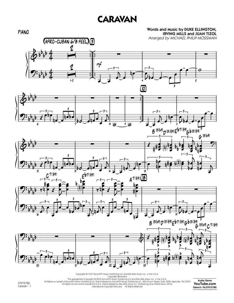 Caravan - Piano