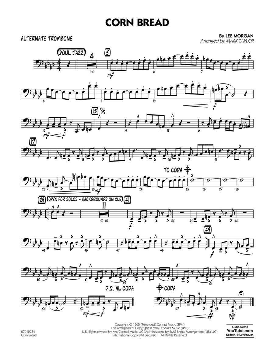 Corn Bread - Alternate Trombone