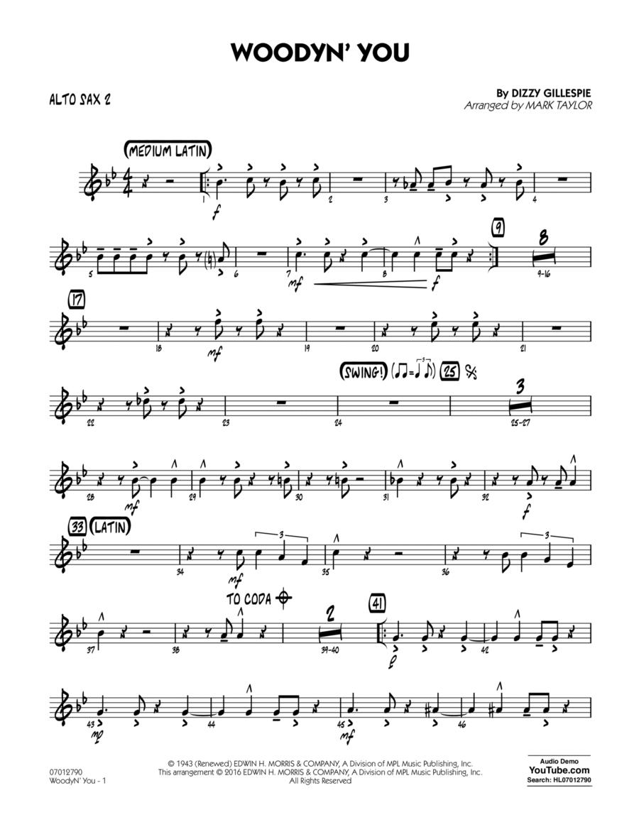 Woodyn' You - Alto Sax 2