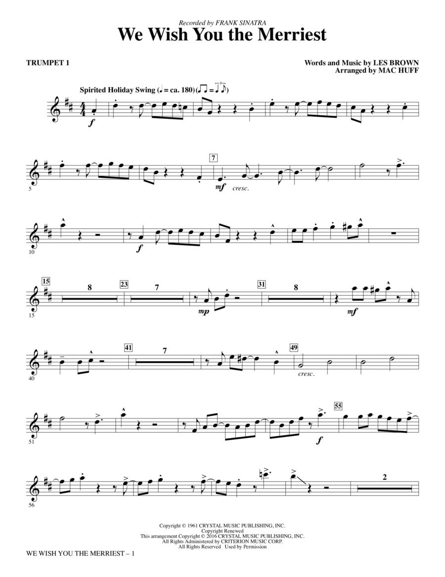 We Wish You the Merriest - Trumpet 1