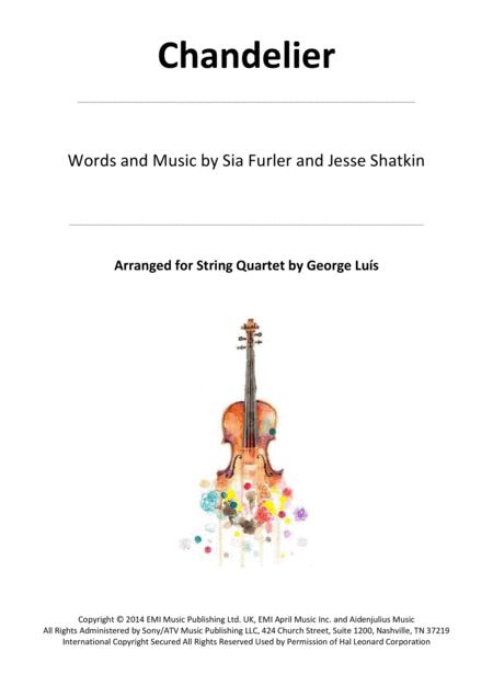 Chandelier for String Quartet