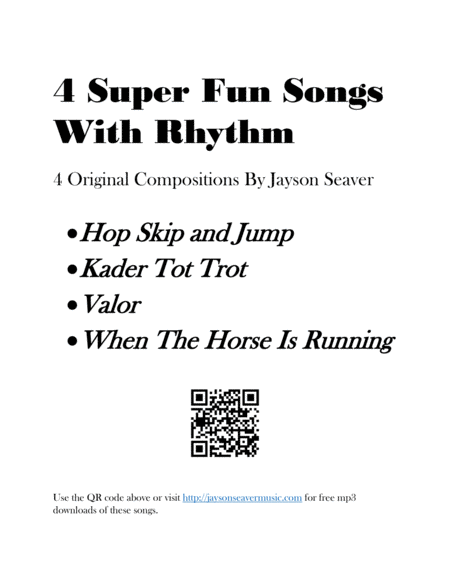 4 Super Fun Songs With Rhythm