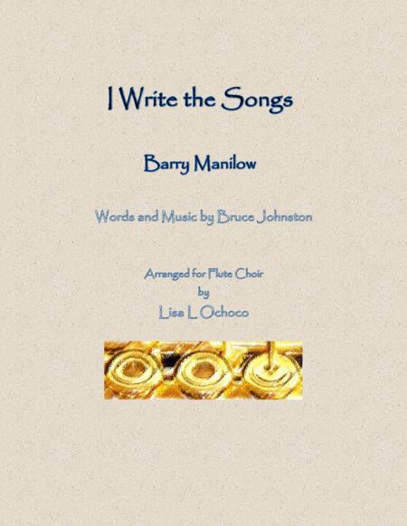 I Write The Songs for Flute Choir