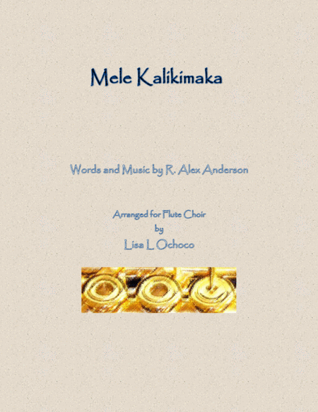 Mele Kalikimaka for Flute Choir
