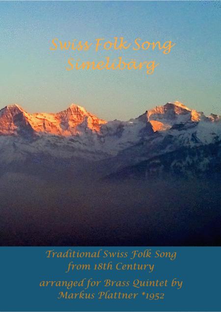Swiss Folk Song - Simelibärg
