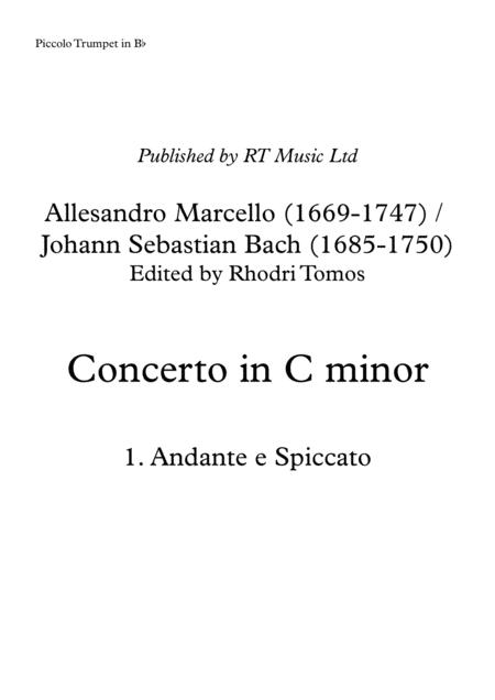 Marcello / Bach BWV974 Concerto no.3 in C minor