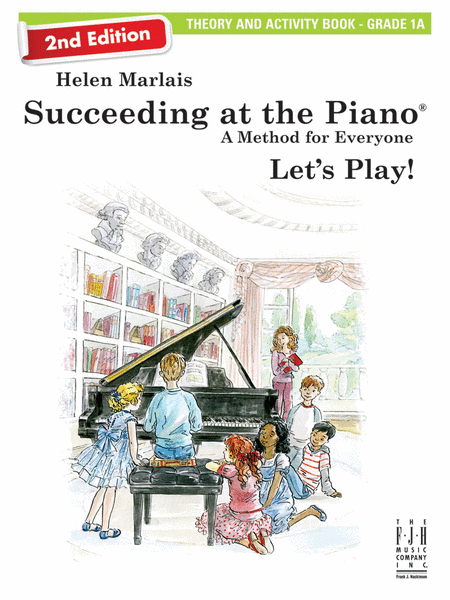 Succeeding at the Piano! Theory and Activity Book - Grade 1A, with CD