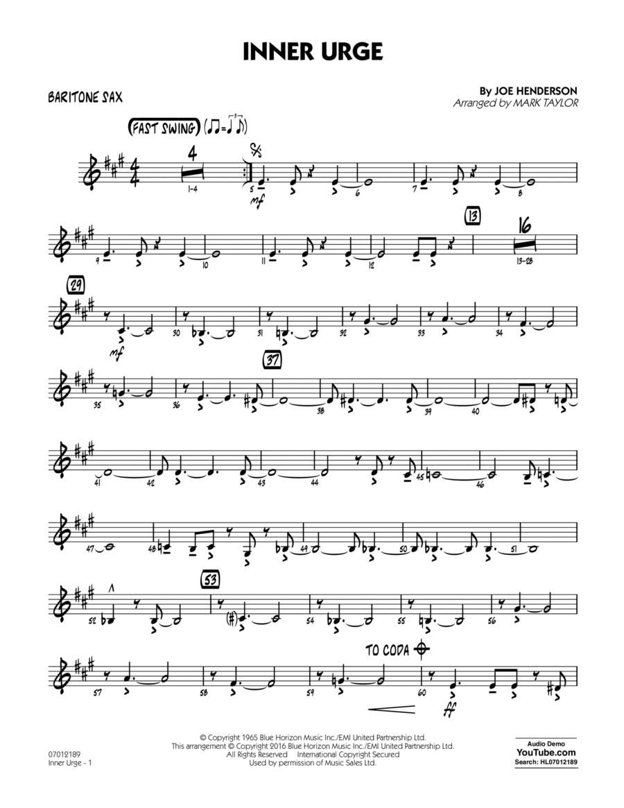 Inner Urge - Baritone Sax