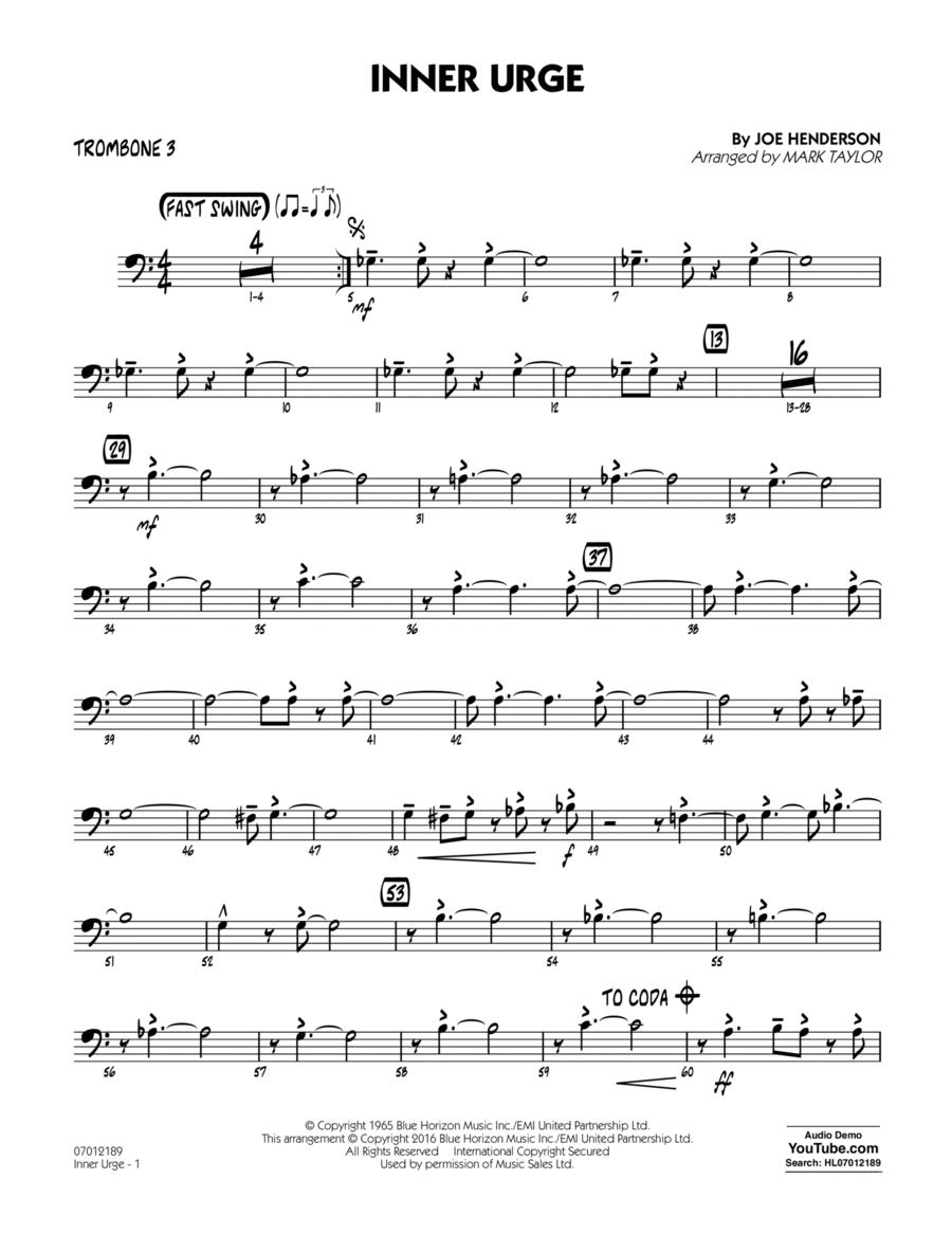 Inner Urge - Trombone 3