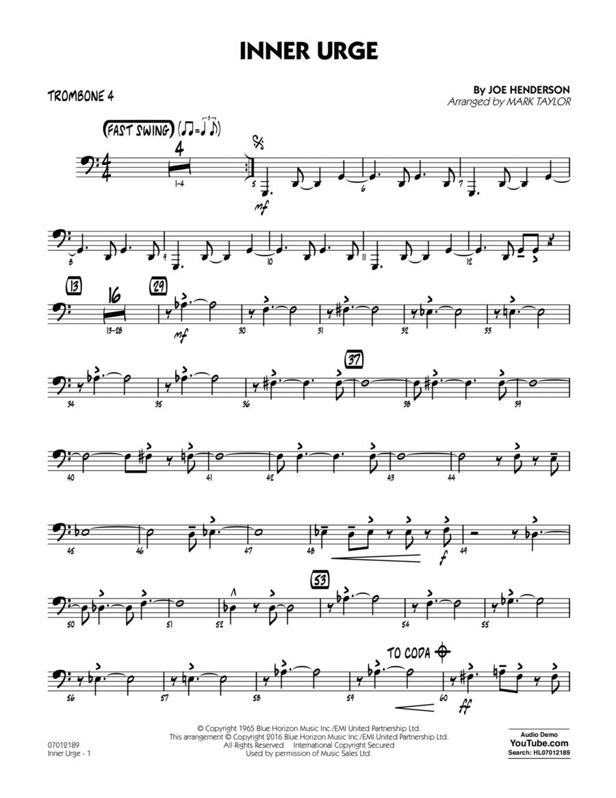 Inner Urge - Trombone 4