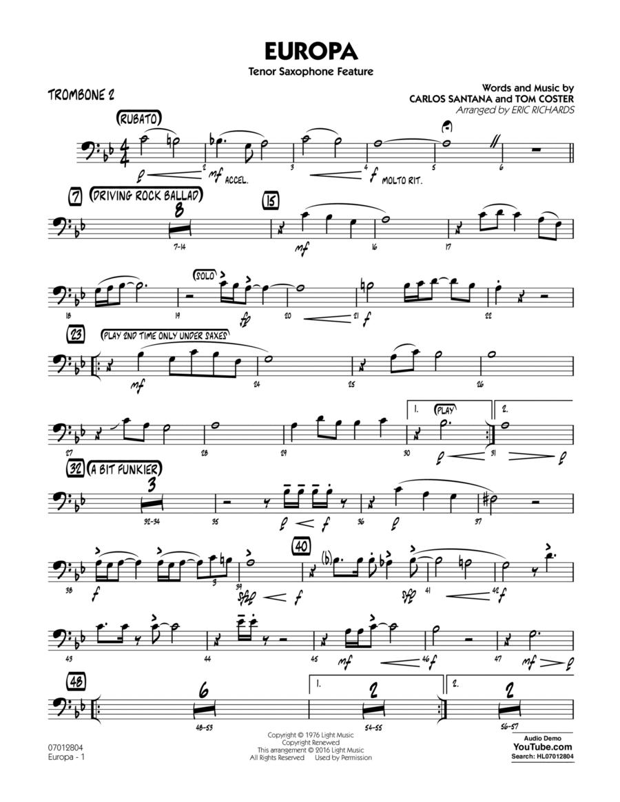 Europa - Trombone 2