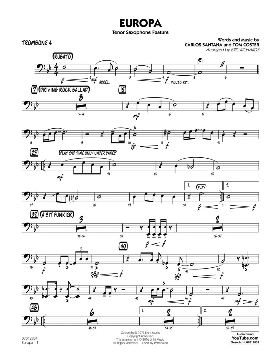 Europa - Trombone 4