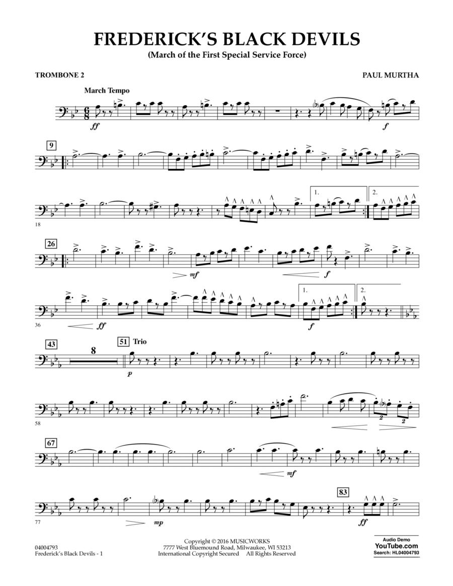 Frederick's Black Devils - Trombone 2
