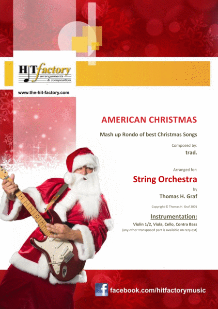 American Christmas - Mash up Rondo of best Christmas Songs - String Orchestra