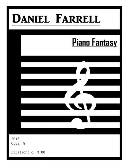 Piano Fantasy - (Op. 8)