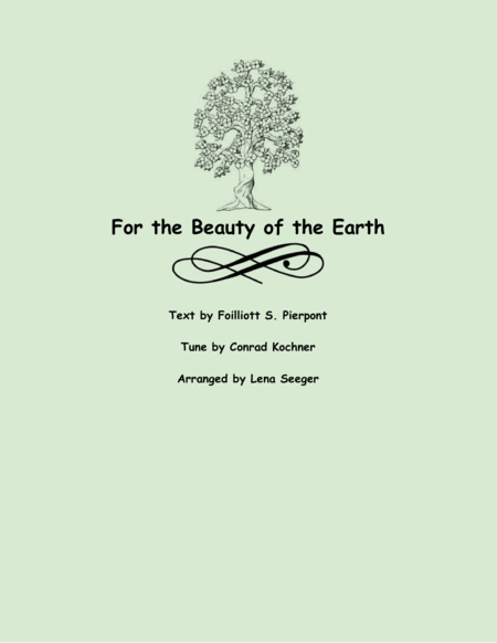 For the Beauty of the Earth (string trio)
