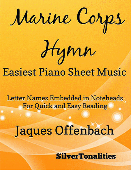 United States Marine Corps Hymn Easiest Piano Sheet Music