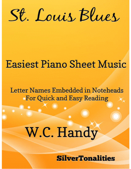 St Louis Blues Easiest Piano Sheet Music