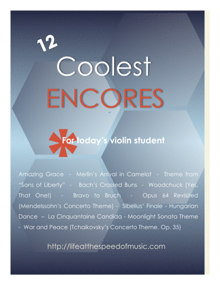 12 Coolest Encores for Today's Violin Student