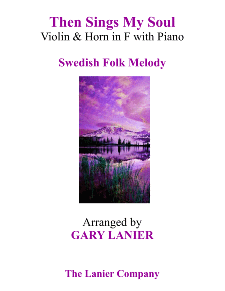 THEN SINGS MY SOUL (Trio – Violin & Horn in F with Piano and Parts)