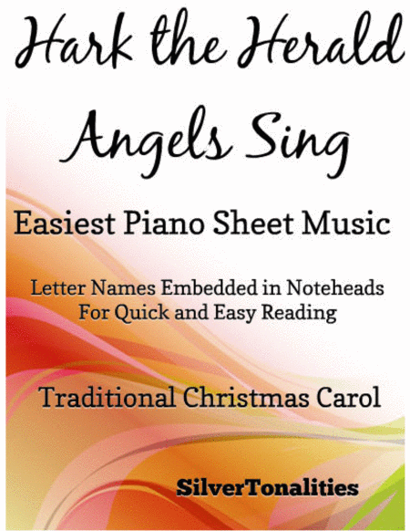 Hark the Herald Angels Sing Easiest Piano Sheet Music