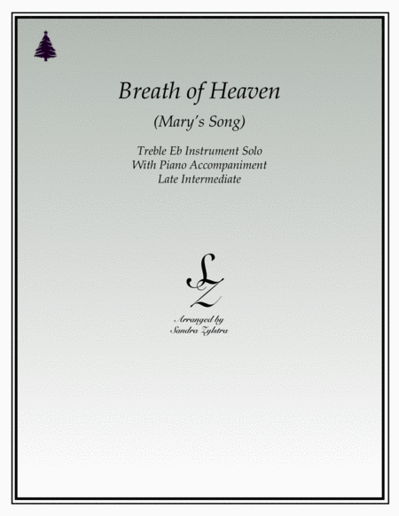 Breath Of Heaven (Mary's Song)