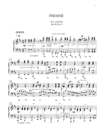 Pavane, Op. 48, No. 4