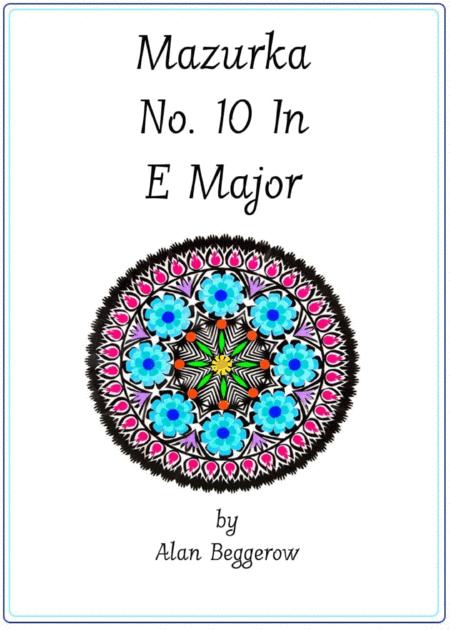 Mazurka No. 10 In E Major