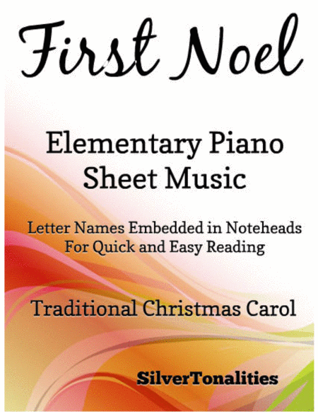 First Noel Elementary Piano Sheet Music