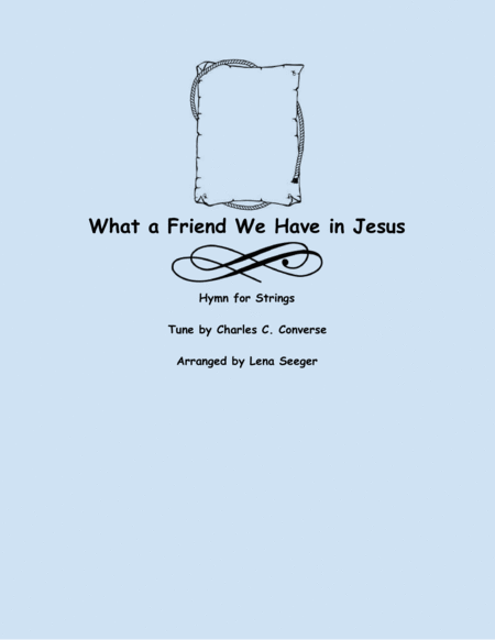 What a Friend We Have in Jesus (string trio)