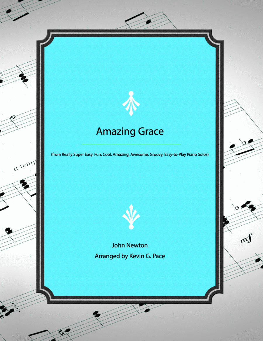 Amazing Grace - easy piano solo