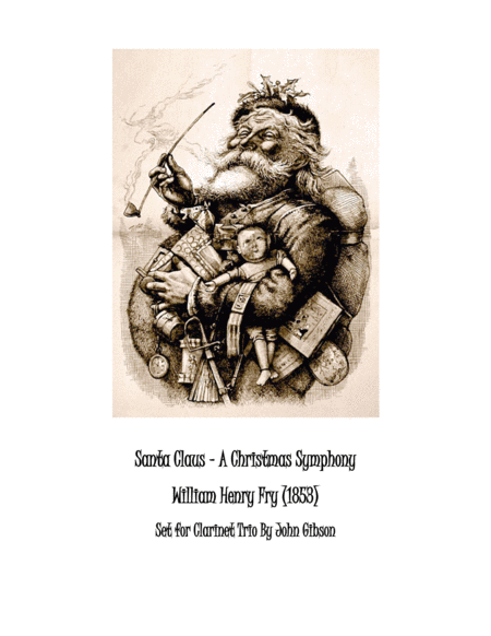 Santa Claus - A Christmas Symphony for Clarinet Trio