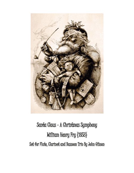 Santa Claus - A Christmas Symphony for Woodwind Trio