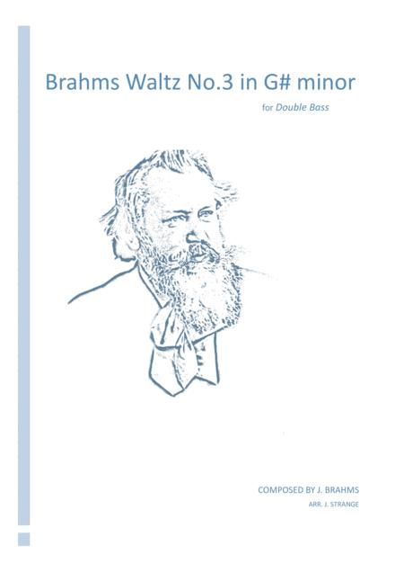 Brahms Waltz No.3 in G# minor (Double Bass)