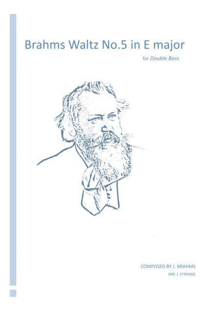 Brahms Waltz No.5 in E Major (Double Bass)