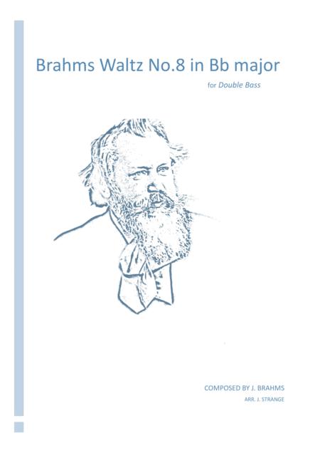 Brahms Waltz No.8 in Bb Major (Double Bass)