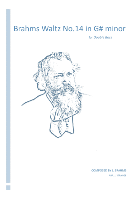 Brahms Waltz No.14 in C Major (Double Bass)