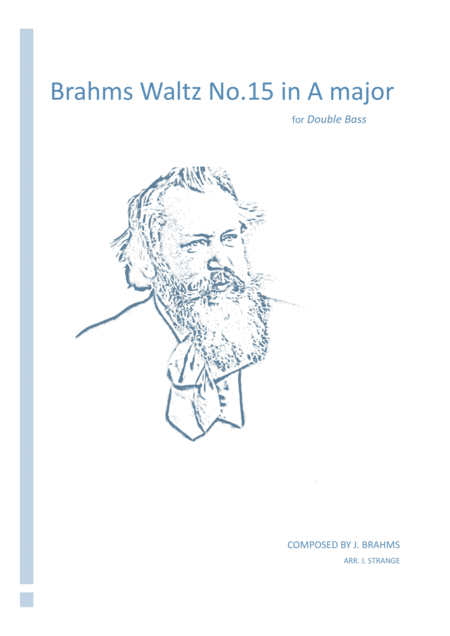 Brahms Waltz No.15 in A Major (Double Bass)