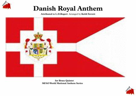 Danish Royal Anthem for Brass Quintet