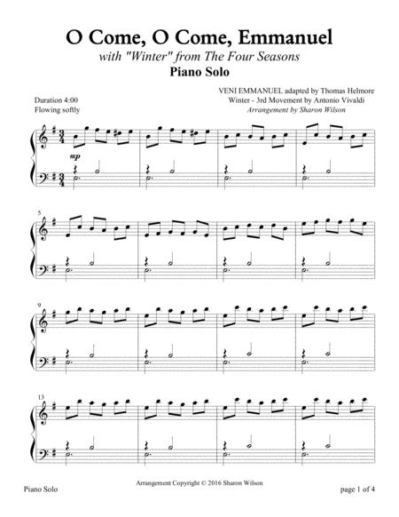 The Four Seasons Hymn Medleys: O Come, O Come, Emmanuel