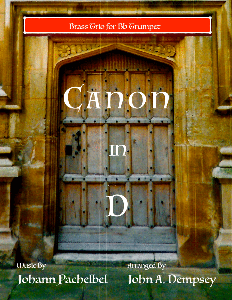 Canon in D (Brass Trio for Trumpets)
