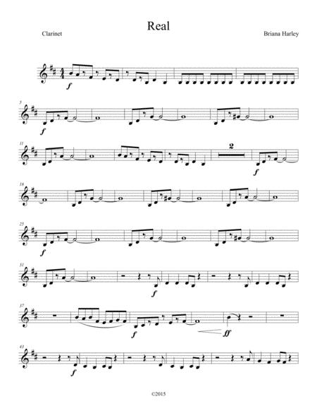 Real - Clarinet