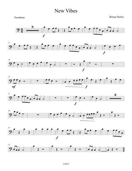 New Vibes - Trombone