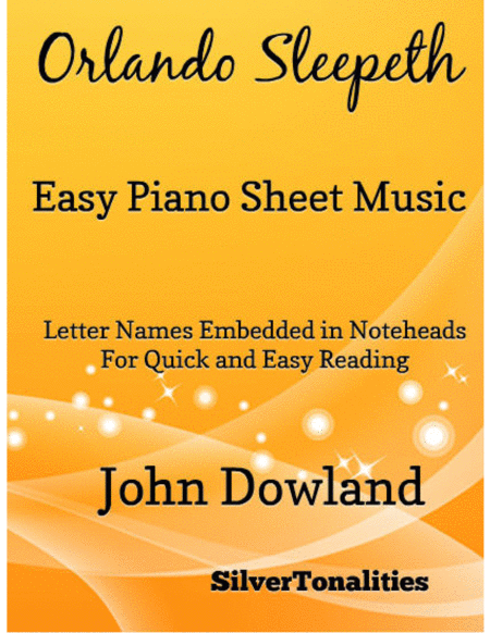 Orlando Sleepeth Easy Piano Sheet Music