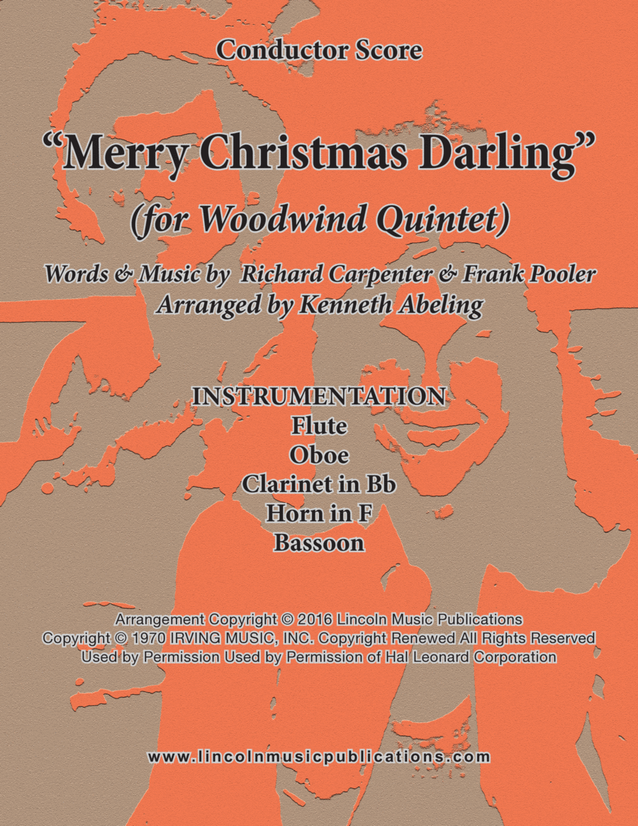 Merry Christmas, Darling (for Woodwind Quintet)