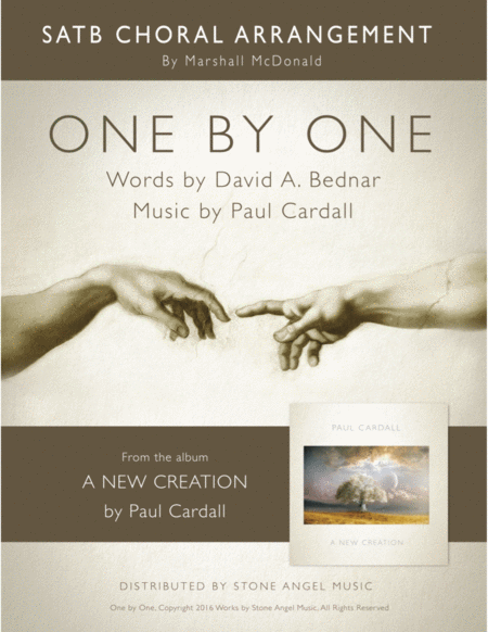 One by One - SATB (Paul Cardall, David A. Bednar)