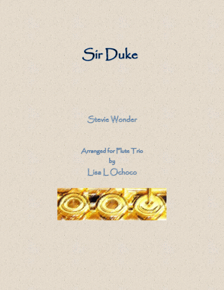 Sir Duke for Flute Trio